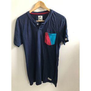 Nike Vintage Henley Tee Shirt